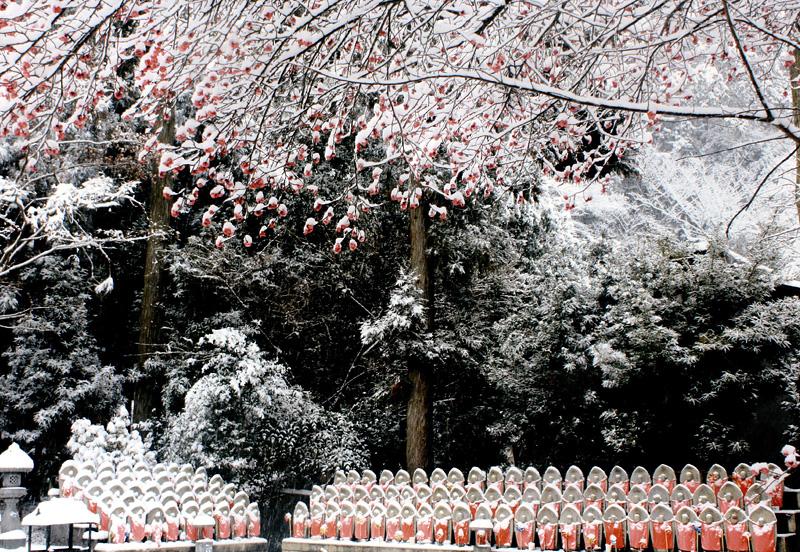 河内長野市観光協会長賞 「雪見地蔵」天野山金剛寺