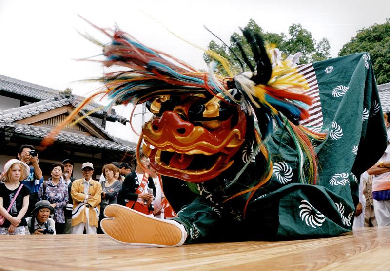 関西サイクルスポーツセンター賞 「勇壮の舞」高向神社