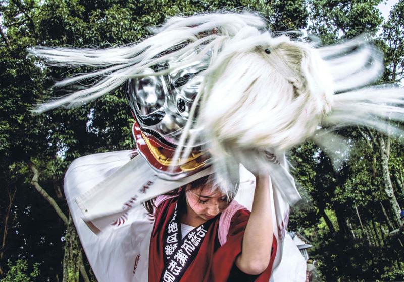 大阪府知事賞 「妖女の舞」高向神社