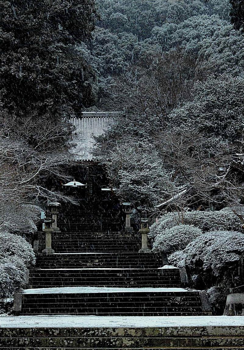 グランプリ 「雪の観心寺」観心寺