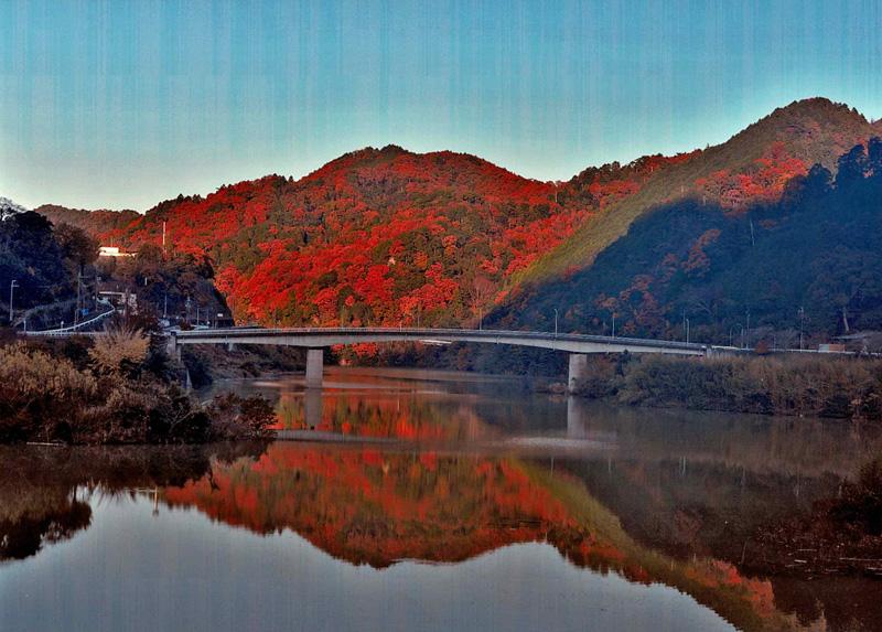 関西サイクルスポーツセンター賞 「ダム湖の夕景」滝畑ダム