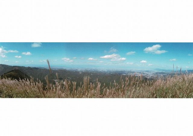 酒蔵にしおか賞 「岩湧山からの180度」岩湧山