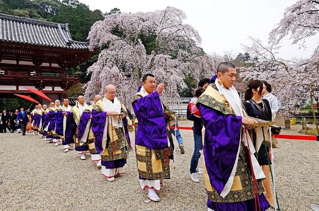 河内長野市議会議長賞 「春の好日」天野山 金剛寺