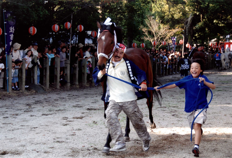 富士フイルム賞 「馬駆け神事」住吉神社