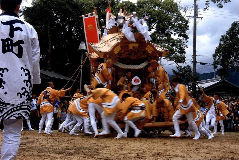 関西サイクルスポーツセンター賞 「秋祭り」高向神社
