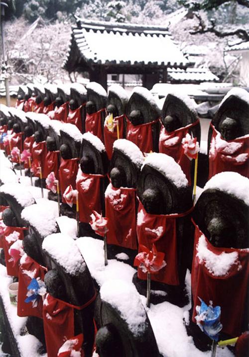 季節賞(冬) 「雪ぼうし」天野山金剛寺