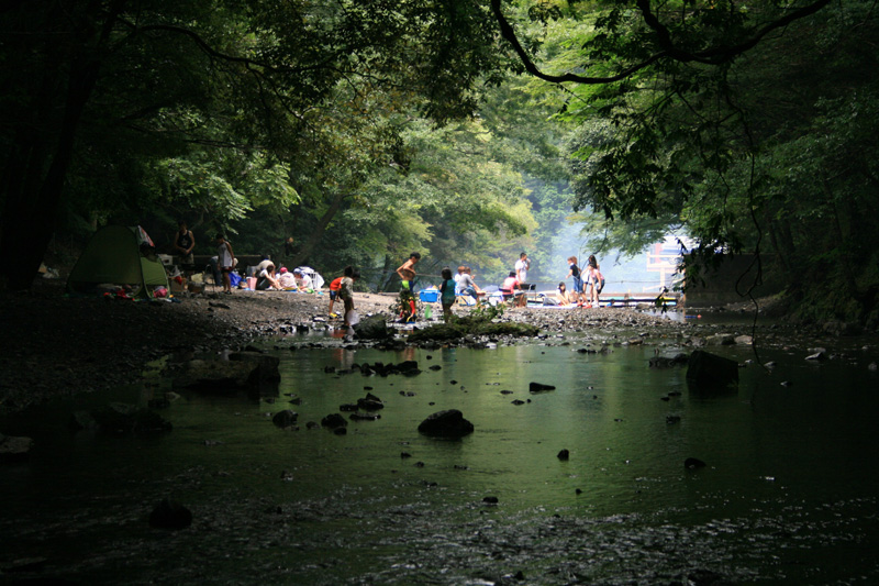 季節賞(夏) 「光滝寺キャンプ場」滝畑