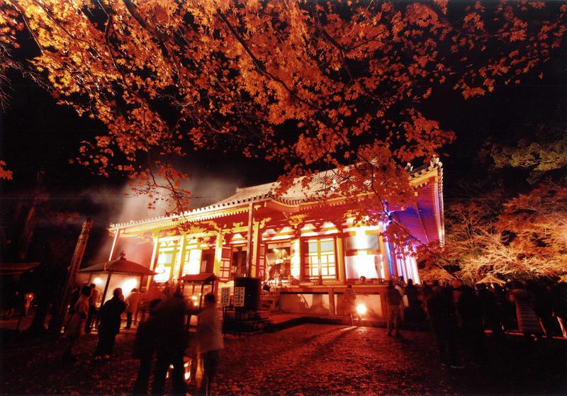 河内長野市長賞 「艶やかな光」観心寺
