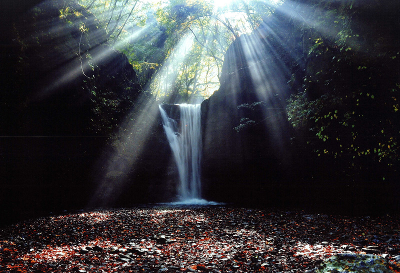 大阪写真材料商業組合理事長賞 「晩秋の輝き」滝畑ダム