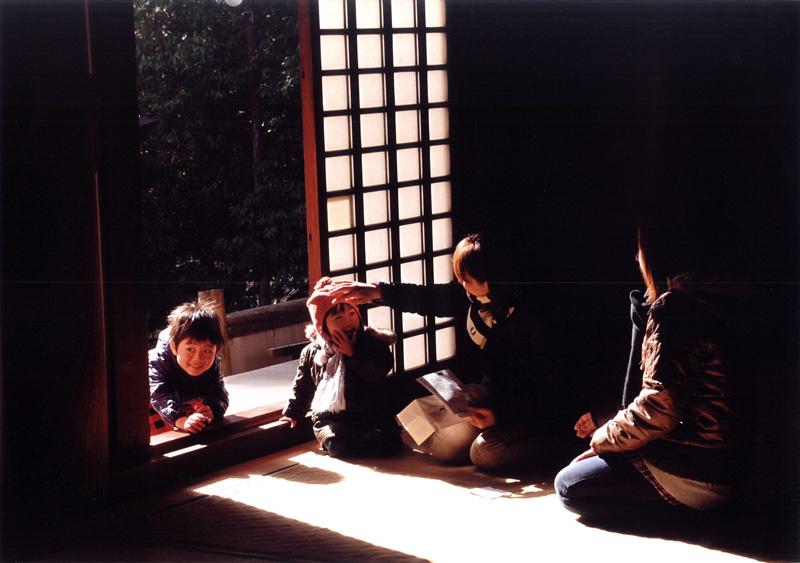 南海バス賞 「日だまり」観心寺金堂