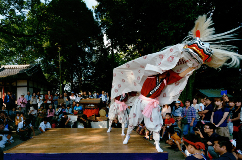 大阪観光局長賞 「村の秋祭り」高向神社